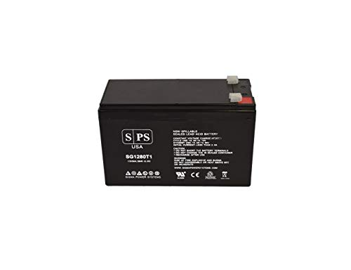 SPS Brand 12V 8Ah Replacement Battery for CP RB1280X2B UPS Battery 12V...