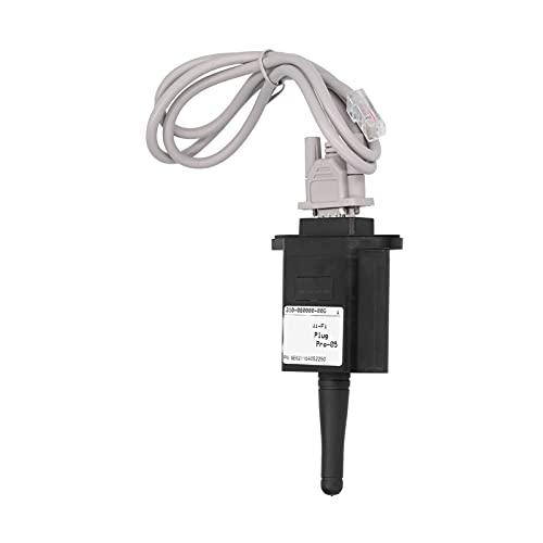 Cyrank Inversores del Sistema Solar, módulo Micro inalámbrico WiFi ABS Componente electrónico de monitoreo Remoto Estable RS232