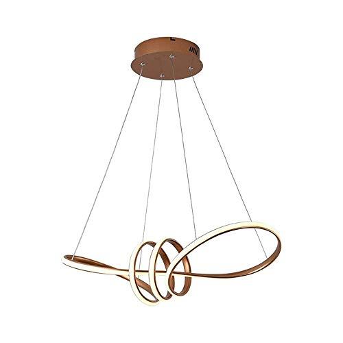 GFDFD Lámparas Modernas Luces de Techo LED Accesorios Lámparas de araña Iluminación de Comedor Luces Colgantes Cable de Acero Inoxidable Ajustable contemporáneo