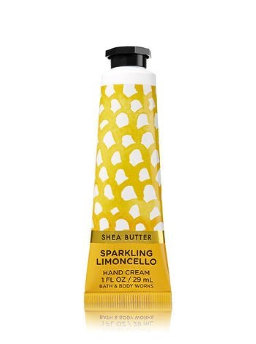 スキームロマンスパンツ【Bath&Body Works/バス&ボディワークス】 シアバター ハンドクリーム スパークリングリモンチェッロ Shea Butter Hand Cream Sparkling Limoncello 1 fl oz / 29 mL [並行輸入品]