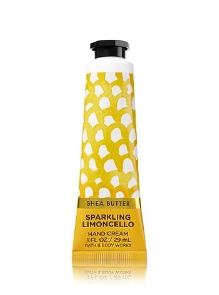 苦味ヒゲ苦味【Bath&Body Works/バス&ボディワークス】 シアバター ハンドクリーム スパークリングリモンチェッロ Shea Butter Hand Cream Sparkling Limoncello 1 fl oz / 29 mL [並行輸入品]