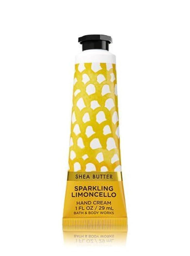 詳細に一月針【Bath&Body Works/バス&ボディワークス】 シアバター ハンドクリーム スパークリングリモンチェッロ Shea Butter Hand Cream Sparkling Limoncello 1 fl oz / 29 mL [並行輸入品]