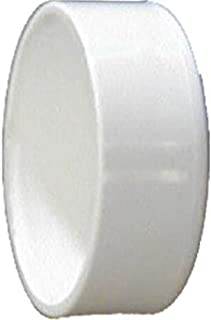 Genova Products 70154 PVC DWV Cap, 4