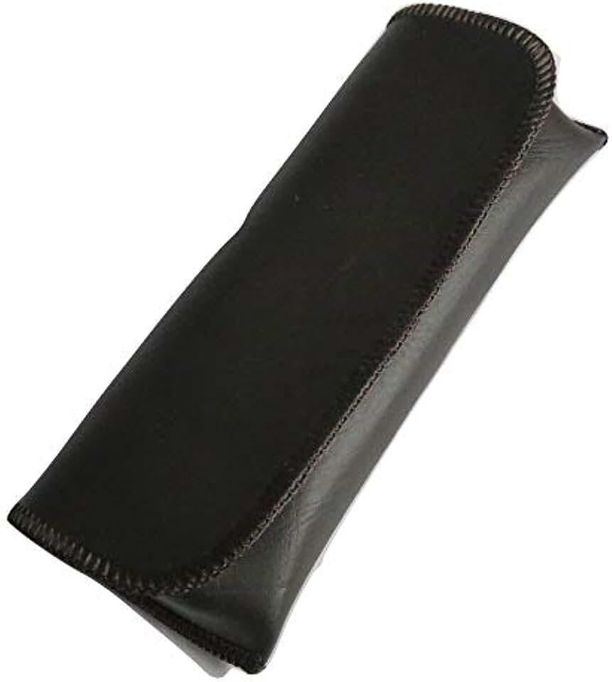 Semi-Hard horizomtal beltloop or Pocket Clip Eyeglass Cases (Brown, Pocket Clip only)