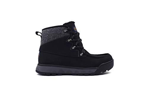Pendleton Women's Torngat Trail Hiking Boot Wool and Waterproof Leather Black, 8.5