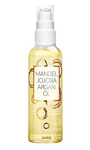 JUVESS Mandelöl, Jojobaöl und Arganöl - Vegane Feuchtigkeitspflege - 3 natürliche Power Öle...