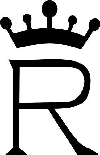 blattwerk-design Brandzeichen der Pferderassen Rheinland Kaltblut M071 Grau