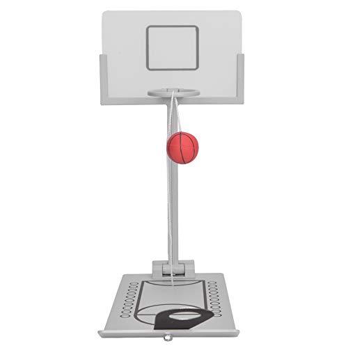 Innovadora máquina de baloncesto plegable plegable, máquina de baloncesto de escritorio, aleación...