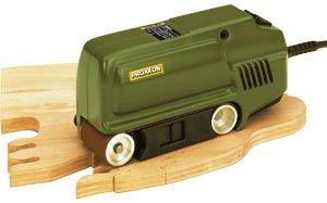 Bandschleifer Proxxon BBS/S 150 W, in Geschenkverpackung + 10 Klett (5 x G120 & amp 5 x G240)