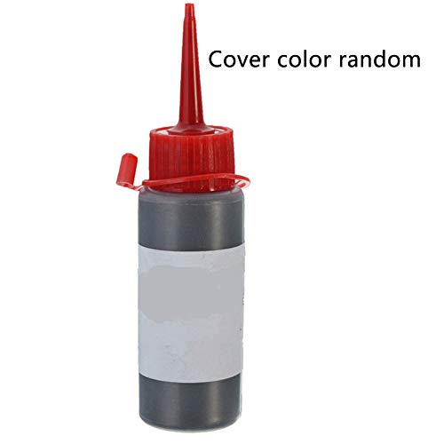 Lubricante en polvo de grafito, 60 ml de lubricante para cerradura de puerta, cerradura de seguridad y más Tamaño libre negro