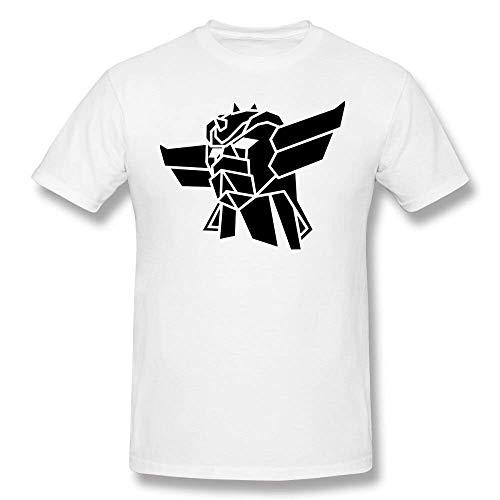 Goldorak T Shirt Goldorak T-Shirt Short-Sleeve Tee Shirt Man Vintage Graphic T Shirt Tee Shirt Streetwear Tshirt WhiteXL