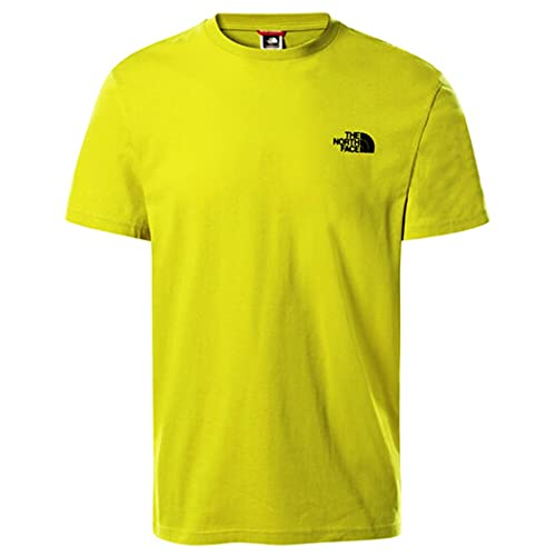 The North Face Men's S/S Simple Dome Tee T-Shirt, C. Green, M Uomo