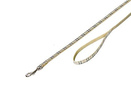 Nobby Leine Tartan beige L: 120 cm; B: 10 mm