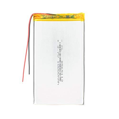 RFGTYH 3,7 V 10000 mAh 8565113 polímero de Litio Li-Po li Ion batería Recargable Lipo Celdas para Altavoz MP5 Coche DVR cámara Reflector