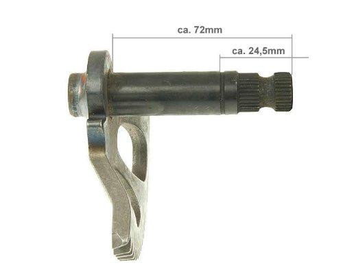 Kickstarterwelle 72mm/24mm für Benelli 49X QuattronoveX 50