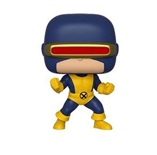 Funko Pop Bobble Vinyle Marvel: 80th-First Appearance-Cyclops Figura Coleccionable, Multicolor (40714)
