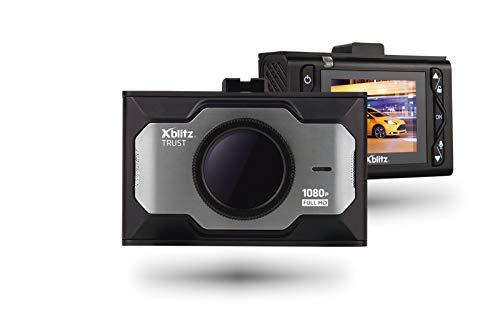 XBLITZ Trust Enregistreur de Voiture avec Technologie de Super condensateur Full HD HDR Résolution Max 1920 x 1080