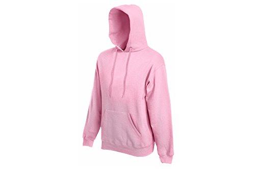 Fruit of the Loom - 62-208-0 - Sweat-shirt à capuche - Femmes - Rosa (Light Pink 52) - Taille: XL