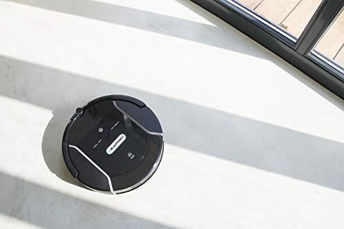 Blaupunkt Bluebot XSMART Saugrobotor mit Wischfunktion und App-Steuerung, 35W, 180 m2 Reichweite, 0,5L Staubbehälter mit HEPA-Filter (Amazon Alexa kompatibel) - 10