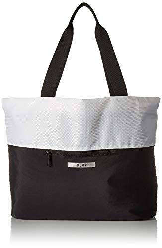 PUMA Unisex-Adult's Uniform Tote, White, One Size