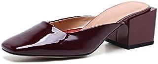 8032231503e03b Qingchunhuangtang@ Ladies' Cool Pantoufles Baotou Chaussures Manolo Blahnik  Talon sandales talon haut