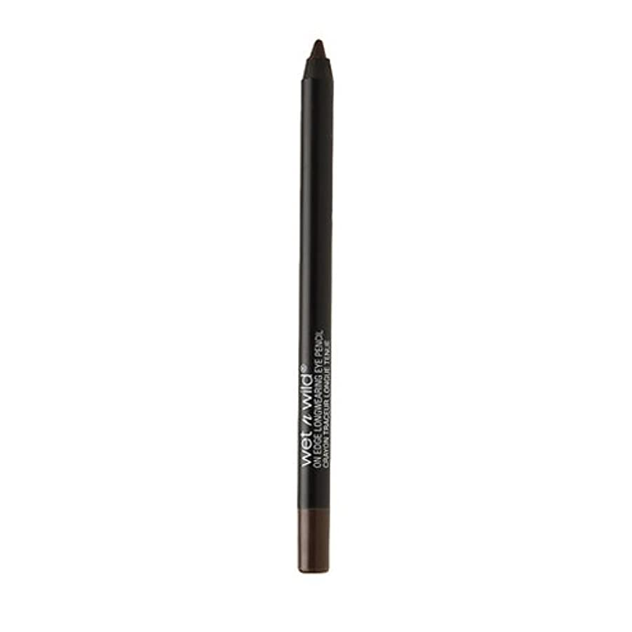 科学者プログラム付き添い人WET N WILD On Edge Longwearing Eye Pencil - Wooden You Know (並行輸入品)
