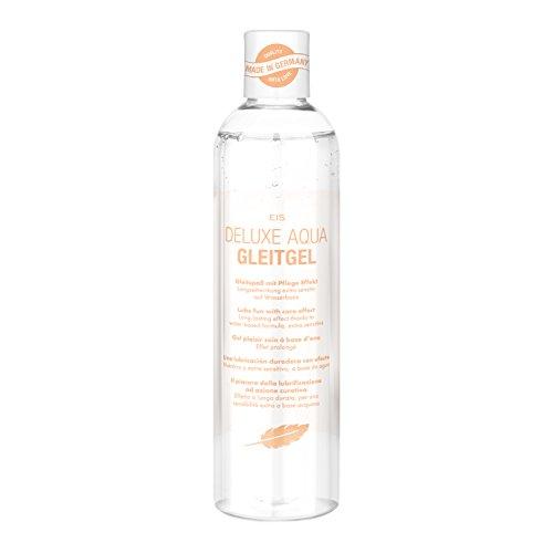 Deluxe Aqua Gleitgel von EIS, wasserbasierte Langzeitwirkung, pflegend, 300 ml