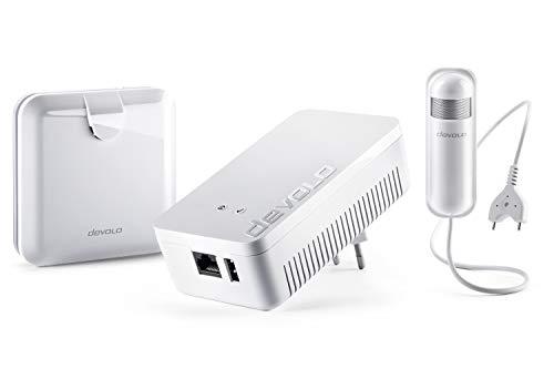 devolo Home Control Wassermelder-Paket (Smarthome Einsteigerpaket, Z-Wave, Haussteuerung per iOS/Android App, einfache Installation, enthält: Zentrale, Alarmsirene und Wassermelder) weiß