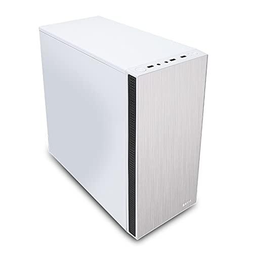WSNBB Caja Pequeña para Computadora De Escritorio, Caja Principal Matx Mini Carcasa De Bricolaje Mini, Caja Principal Blanca Pura 120 Refrigerada por Agua, Placa Base De Soporte: Micro-ATX