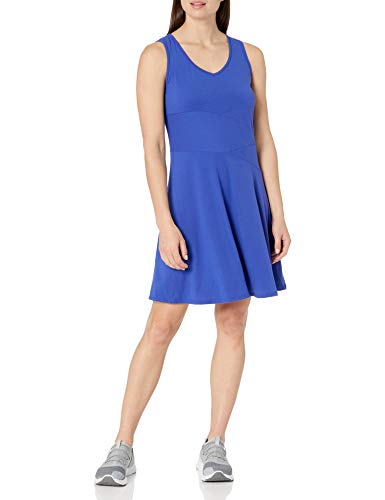 Prana Damen Amelie Kleid, Kobaltblau, Größe M