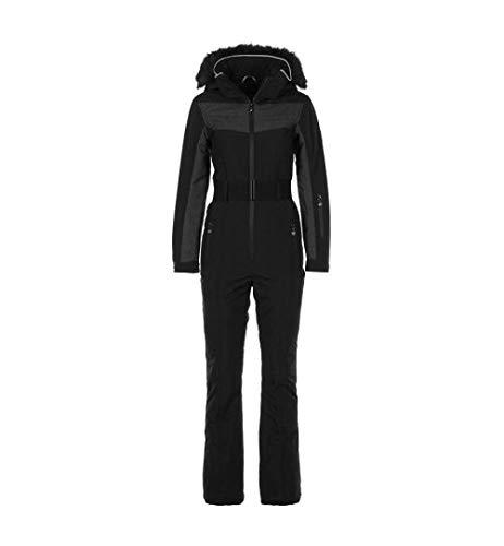Peak Mountain - Combinaison de Ski Femme ARCFLO-Noir-M