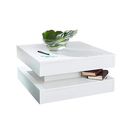 trendteam smart living Couchtisch Tisch, 60 x 30 x 60 cm