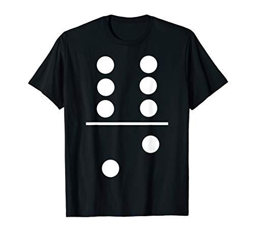 Dominosteine Spiel 6–2Halloween Gruppe Kostüm T-Shirts