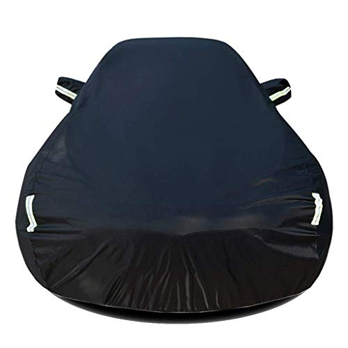 Compatible con Acura NSX Coupe Cubierta de coche Avión impermeable Avión de la cubierta de automóvil con el revestimiento interior del algodón Volumen del automóvil del automóvil para la resistente a