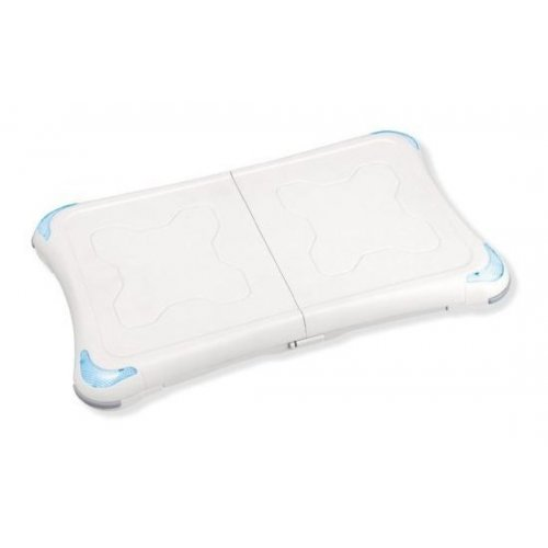 Infocapital - Crown Balance Board, Color Blanco + Wii Fit (Nintendo Wii)