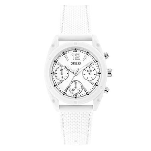 Guess Quartz White Dial Ladies Watch W1296L1