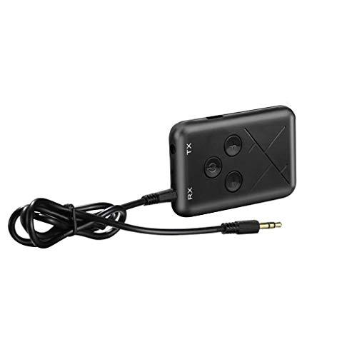 Guangcailun 3,5 mm o inalámbrica Bluetooth estéreo 4.2 Transmisor Receptor 1 o 2 en la TV Altavoz del Coche Adaptador de Música