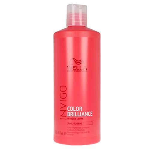 WELLA Invigo Color Brilliance Shampoo Fine Hair 500 Ml - 500 Mililitros