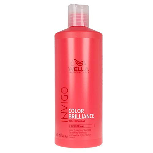 WELLA Invigo Color Brilliance Shampoo Fine Hair 500 Ml - 500 Mililitros
