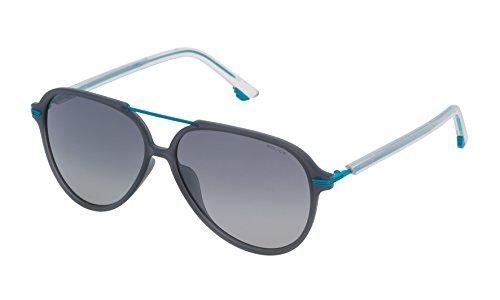 Police SPL58258M20P Gafas de sol, Azul, 58 Unisex