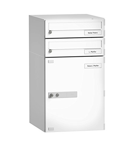 BURG-WÄCHTER, Paketbox mit Benachrichtigungskarte, Paketbox-Sharing-Fähig, Stahl, eBoxx DAA 634 SW