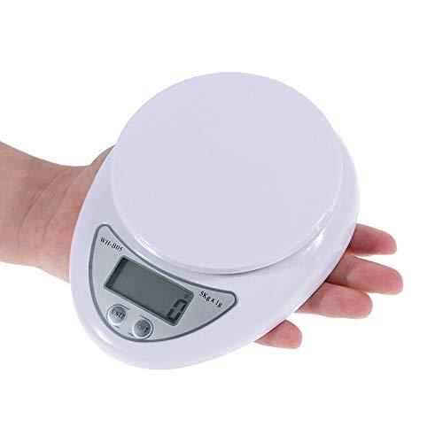 Báscula de Cocina Digital Báscula Digital 5kg Mini Balanza