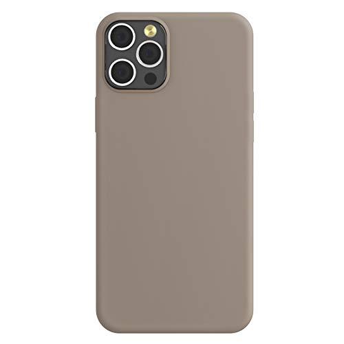 ZhinkArts Silikon Handyhülle kompatibel mit Apple iPhone 12 Pro Max - 6,7
