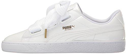 PUMA Women's Basket Heart Sneaker