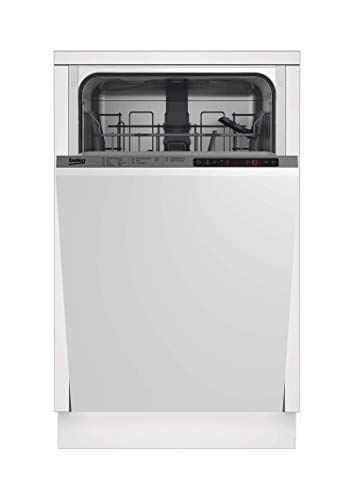 Beko DIS26011 Geschirrspülmaschine ohne Möbelfront / 10 Maßgedecke / Watersafe+ / SelFit - selbstjustierende Türfeder / Active Spot - Licht am Boden