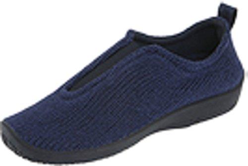 Arcopedico Women's Navy ES Slip-on Shoe 5.5-6 M US