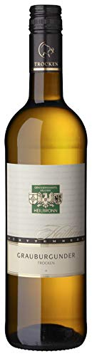 Württemberger Wein Heilbronner Grauer Burgunder QW trocken (1 x 0.75 l)
