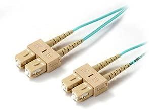 10M SC-SC 50/125 10 Gigabit Multimode Duplex Fiber Jumper Zipcord Cables (OM3)