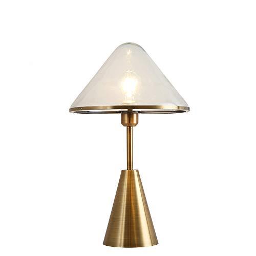 LOVE-HOME tafellamp woonkamer slaapkamer Selvaggio glas transparant tafellamp (220 V, E27)