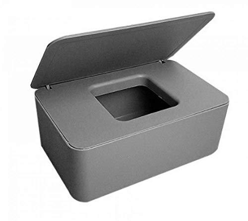 YRHH Caja De Pañuelos Cosméticos Caja De Toallitas Húmedas Caja De Almacenamiento De Toallitas Húmedas Caja De Papel Higiénico para La Oficina En Casa-Gray